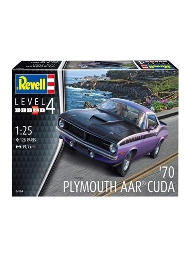 Revell  Maket 1970 Plymouth Cuda 07664 Renkli